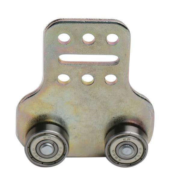 Drsnik 4 kolesni kovinski