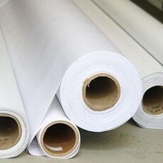 belo platno za tisk
